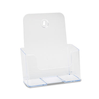 Docuholder Clear Rigid Brochure Holder