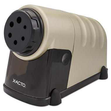 X-ACTO - High-Volume Commercial Desktop Electric Pencil Sharpener - Beige