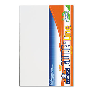 Elmer's� Guide-Line Foam Display Board