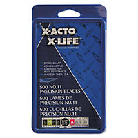 X-ACTO #11 Blades for X-Acto Knives, 500ct.