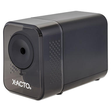 X-ACTO Model 1800 Series Desktop Electric Pencil Sharpener - Charcoal/Black