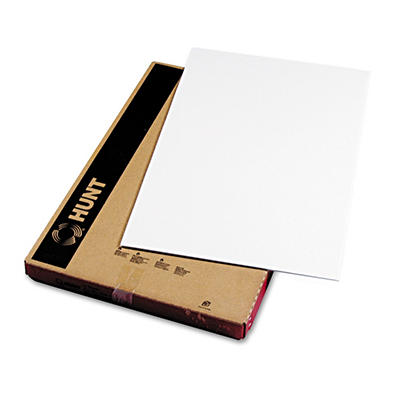 Elmer's Polystyrene Foam Board, 30 x 20, White Surface and Core, 10 per Carton