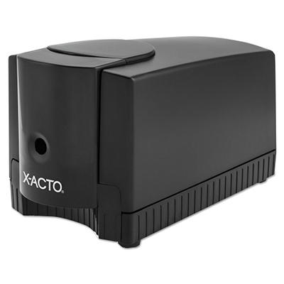 X-ACTO - Deluxe Heavy-Duty Desktop Electric Pencil Sharpener - Black/Gray