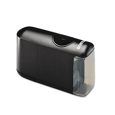 X-ACTO - Helical Desktop Battery-Operated Pencil Sharpener - Black