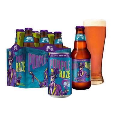 ABITA PURPLE HAZE 6 / 12 OZ BOTTLES