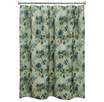 Click here for Blue Floral shower curtain prices