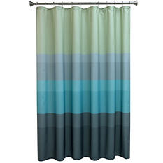 Striped Shower Curtain, Cool