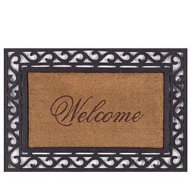 Framed Welcome Door Mat