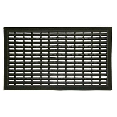 Black Scraper Door Mat