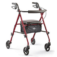 Medline Ultra Lightweight Rollator (Choose Your Color)
