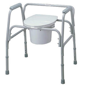 Bariatric Steel Commode