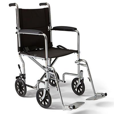 "Transport Wheelchair- 19"""