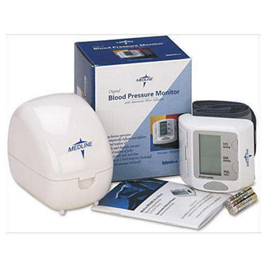 Medline Digital Wrist Blood Pressure Monitor