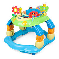 Delta Children Lil' Play Station 3-in-1 Activity Walker, Multi/Blue