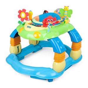 Delta Children Lil' Play Station 3-in-1 Activity Walker, Multi/Blue