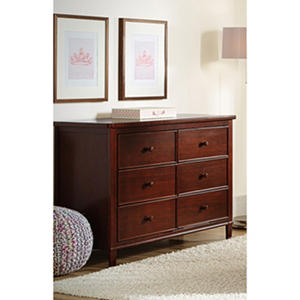 Delta Children Haven 6-Drawer Dresser (Assorted Colors)