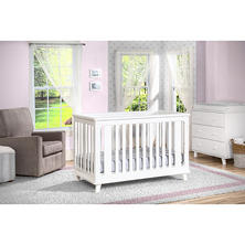 Delta Children Ava 3-in-1 Convertible Crib, White