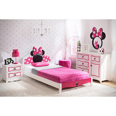 Delta Children Minnie Mouse 4 Piece Twin Bedroom Set Sam 39 S Club