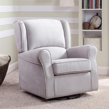 249 87 Sutton Fabric Swivel Glider Recliner Dealepic
