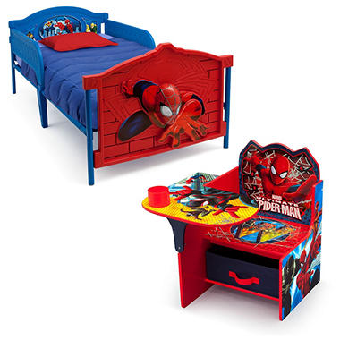 Delta Children Spider Man 2 Piece Twin Bedroom Set Sam 39 S