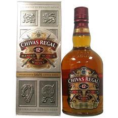 Chivas Regal 12 Year Old Scotch - 750ml