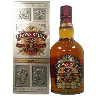 Chivas Regal 12 Year Old Scotch - 750ml