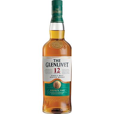The Glenlivet 12 Year Old Single Malt Scotch Whisky (750 ml)