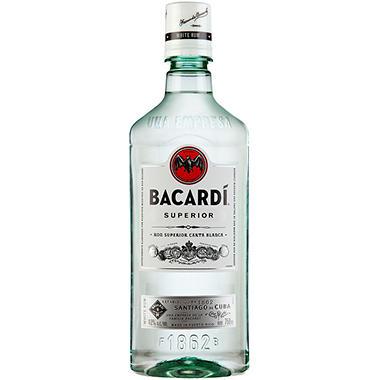 Bacardi Rum Superior Pet (750 ml)