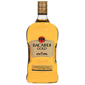 Bacardi Rum Gold (750 ml)