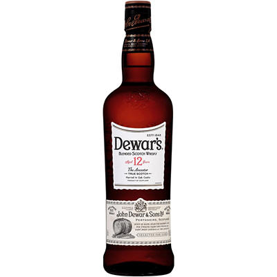 Dewar's 12 Year Scotch Whisky - 750ML