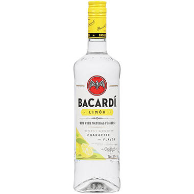 +BACARDI RUM LIMON 750ML