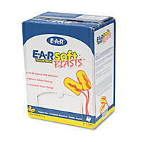 3M - E·A·Rsoft Blasts Earplugs, Corded, Foam, Yellow Neon -  200 Pairs