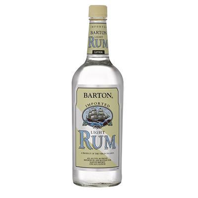 Barton Light Rum - 1L