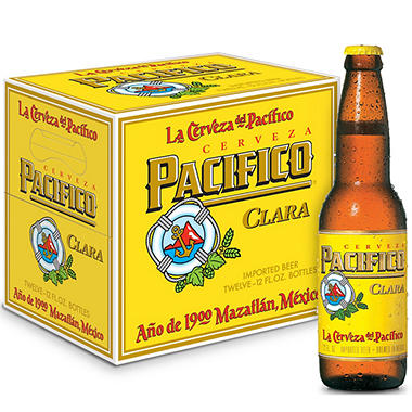 PACIFICO CLARA 12 / 12 OZ BOTTLES