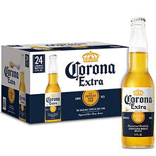 Corona Extra Imported Beer (12 oz. bottles, 24 pk.)