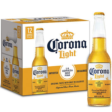 CORONA LIGHT 12 / 12 OZ BOTTLES
