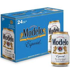 Modelo Especial Beer (12 oz. cans, 24 pk.)