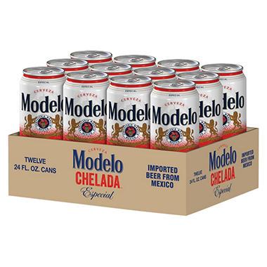 MODELO  CHELADA 12 / 24 OZ CANS