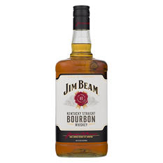 Jim Beam Kentucky Straight Bourbon (1.75 L)
