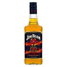 Jim Beam Kentucky Fire Bourbon (750ML)