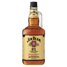 Jim Beam Rye Whiskey (1.75 L)