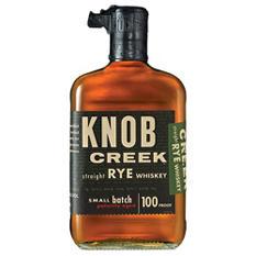 Knob Creek Straight Rye Whiskey (750ML)
