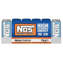NOS HIgh Performance Energy Drink (16 oz. can, 24 pk.)