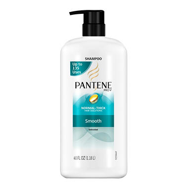 Pantene Pro-V Normal-Thick Smooth Shampoo Pump - 40 oz.