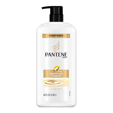 Pantene Pro-V Daily Moisture Renewal Conditioner - 40 oz. pump
