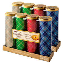 Stockmeyer Shortbread Tins (4 tins per pk., 2 pk.)