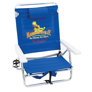 Margaritaville Classic Lay Flat Backpack Beach Chair Sam