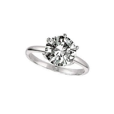 .86 ct. Diamond Solitaire Platinum Ring (D, VVS2)