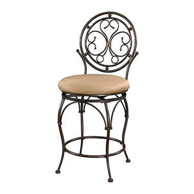 Big Amp Tall Circle Scroll Back Bar Stool Assorted Sizes Sam S Club