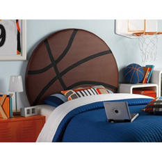 Basketball Headboard, Twin Size